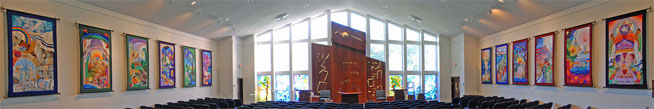 Temple B'nai Shalom Tapestries